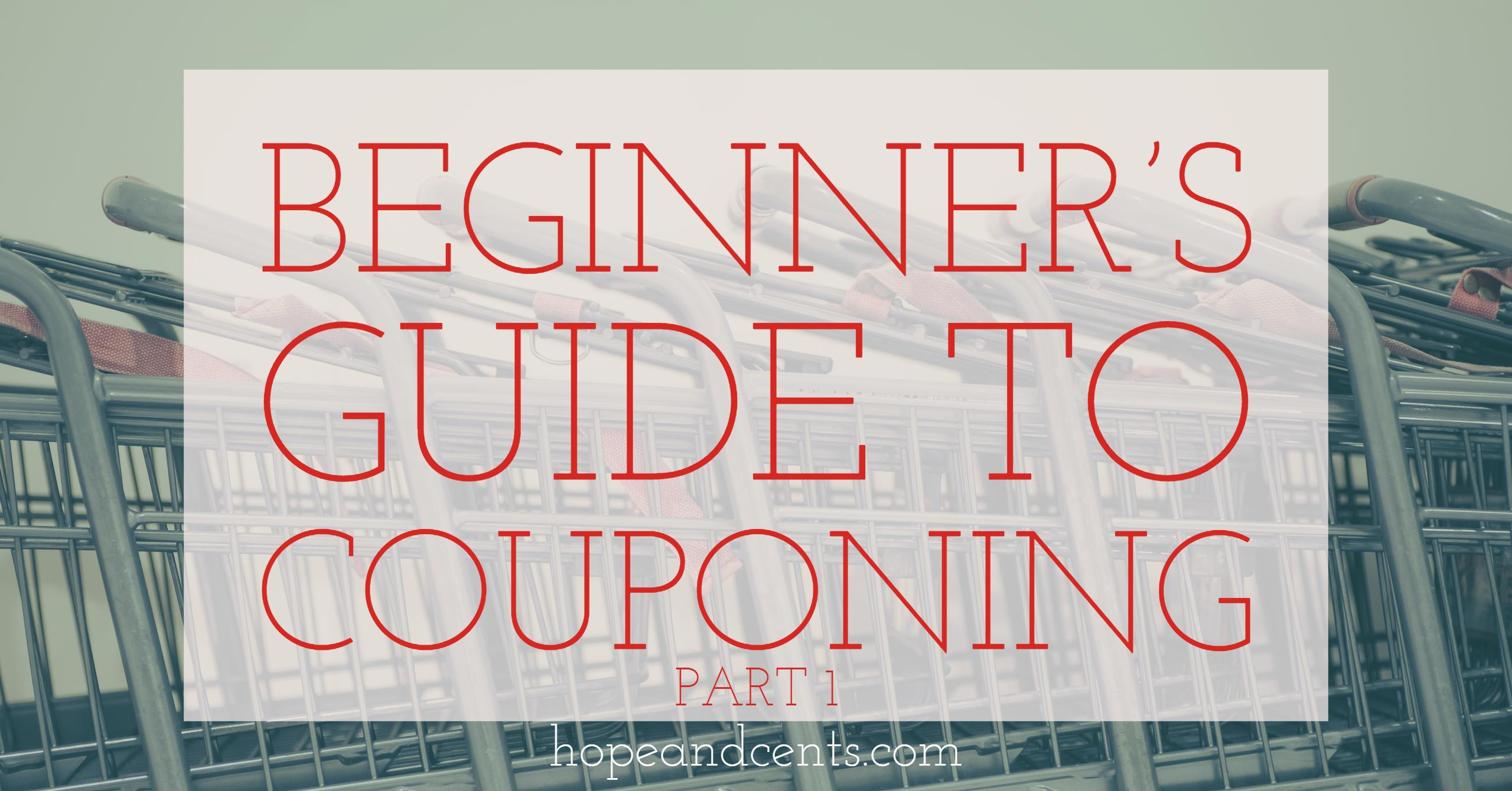 Beginner s Guide to Couponing